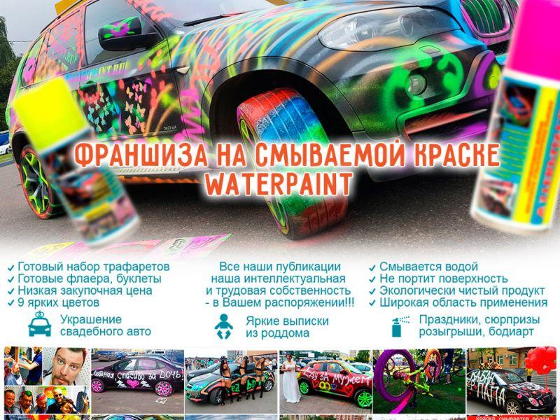 Бизнес на смываемой краске Waterpaint - Цветной-дым.рф отзывы