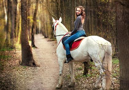 Прически для фотосессии с лошадьми