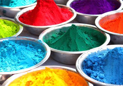 Как сделать краски Холи своими руками из муки