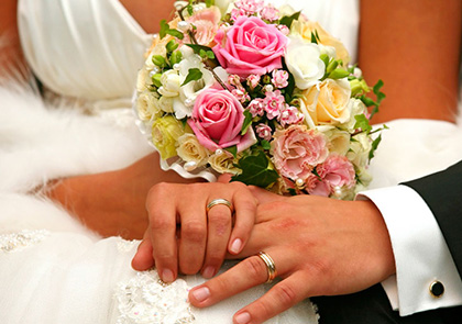 Покупка свадебных колец через интернет-магазин