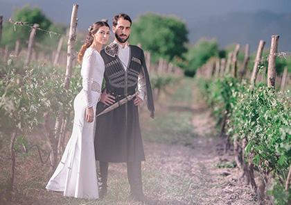 Грузинская свадьба традиция
