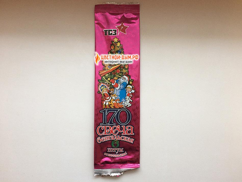 Купить Бенгальские огни 17 см (6 шт. в упаковке)