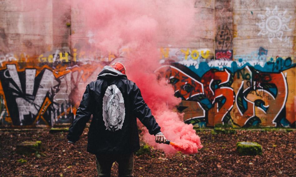 Smoke Grenade wp-40 (красный) с чекой 90 секунд