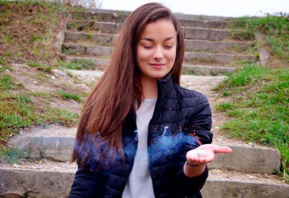 запуск Дымовые шарики DYMNE KULE