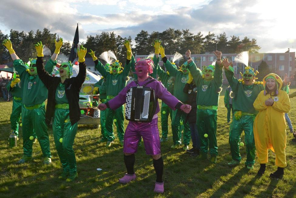 фестиваль зеленых человечков в зеленограде