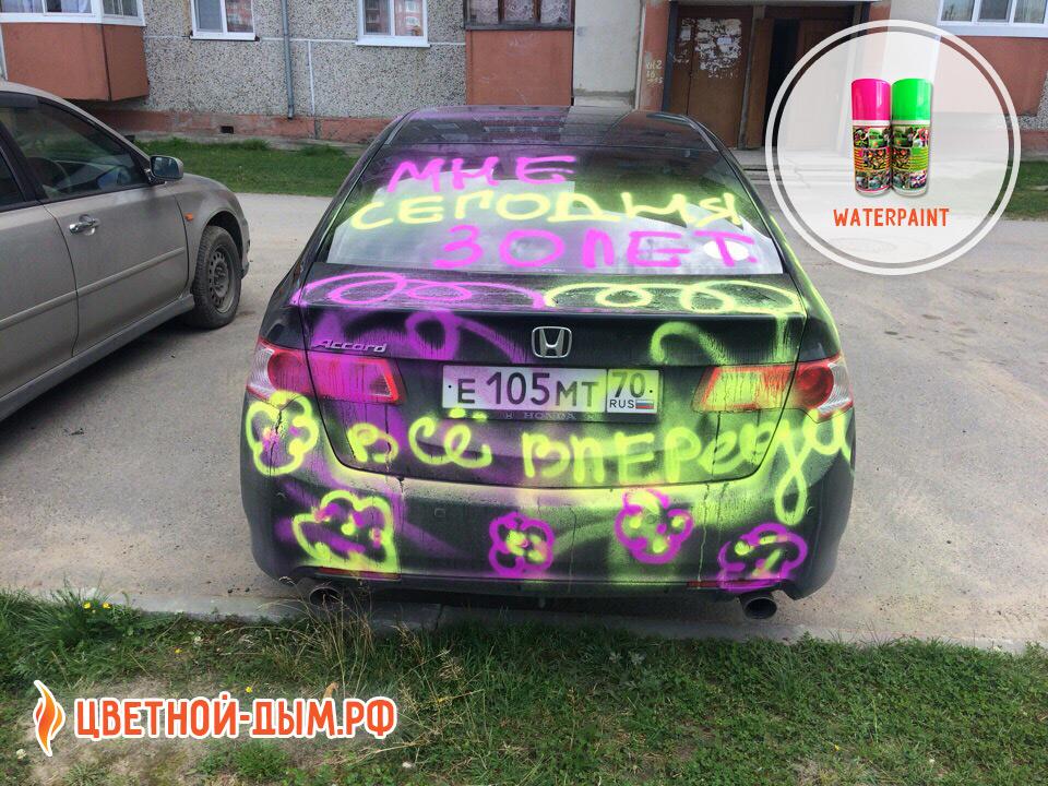 Купить смываемую краску Waterpaint в Томске