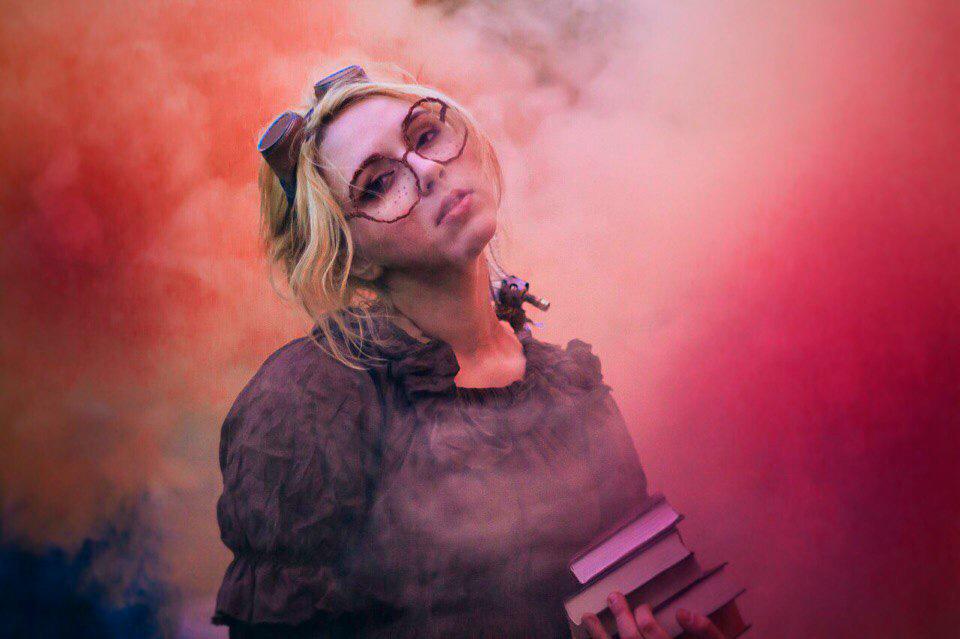 Сумасшедший ученый Лиза Маркова или ученый с дымовыми шашками